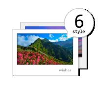 明信片(1組6張)