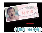 姓名貼(1款共108小張)